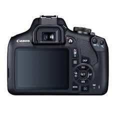 Цифрова фотокамера дзеркальна Canon EOS 2000D + 18-55 IS II + SB130 (2728C015), фото 2