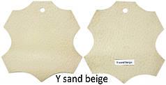 Кожа стелечная (подкладочная) воскованая цвет бежевый(Y sand beige)