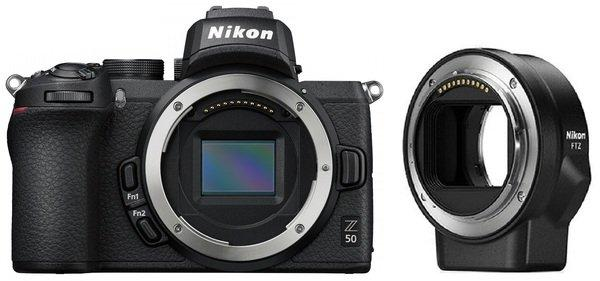 Цифрова фотокамера Nikon Z50 + FTZ Adapter (VOA050K003)