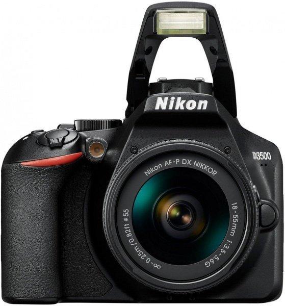 Цифровая фотокамера зеркальная Nikon D3500 + AF-P 18-55 non VR (VBA550K002)