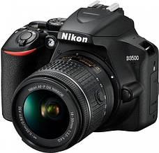 Цифровая фотокамера зеркальная Nikon D3500 + AF-P 18-55 non VR (VBA550K002), фото 3