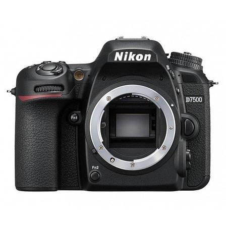 Цифровая фотокамера зеркальная Nikon D7500 Body (VBA510AE), фото 2