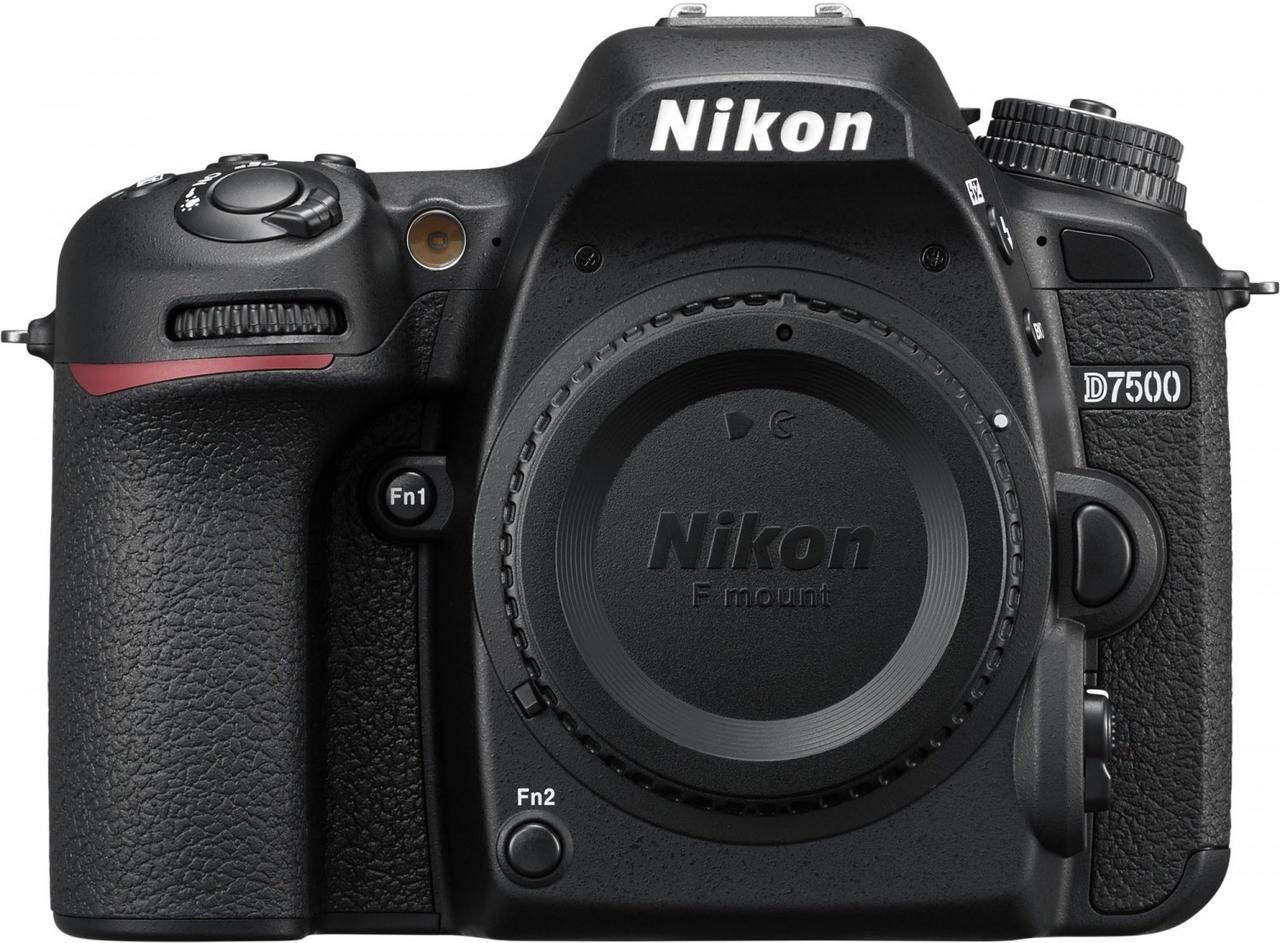 Цифрова фотокамера дзеркальна Nikon D7500 KIT AF-S DX 18-105 VR (VBA510K001)