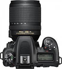 Цифрова фотокамера дзеркальна Nikon D7500 KIT AF-S DX 18-105 VR (VBA510K001), фото 2