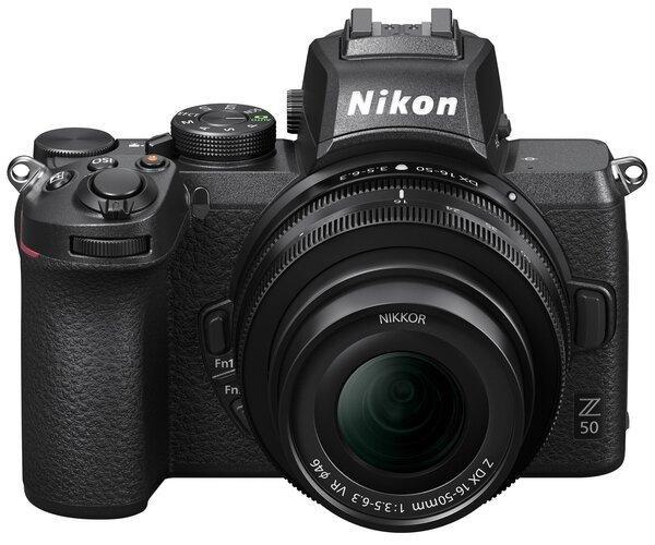 Цифрова фотокамера Nikon Z50 + 16-50 мм VR + FTZ (VOA050K004)