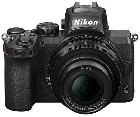 Цифрова фотокамера Nikon Z50 + 16-50 мм VR + FTZ (VOA050K004), фото 2