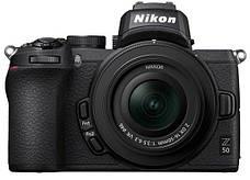 Цифровая фотокамера Nikon Z50 + 16-50 мм VR + FTZ (VOA050K004), фото 2