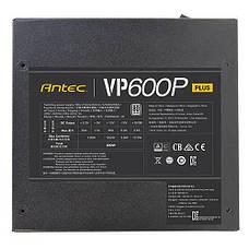 Блок питания Antec Value Power VP600P Plus 600 Вт (0-761345-11654-1), фото 2