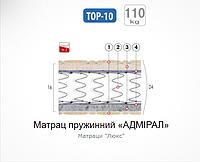 "Матрац пружинный ""АДМИРАЛ"""