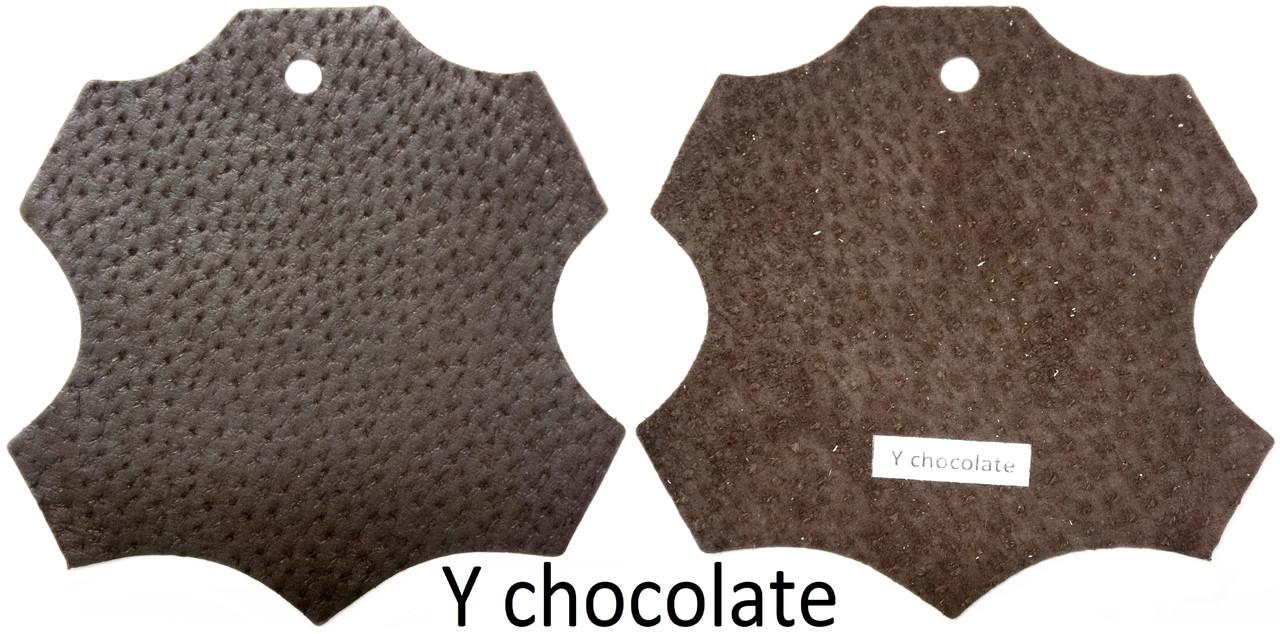 Кожа стелечная (подкладочная) воскованая цвет Коричневый(Y chocolate)