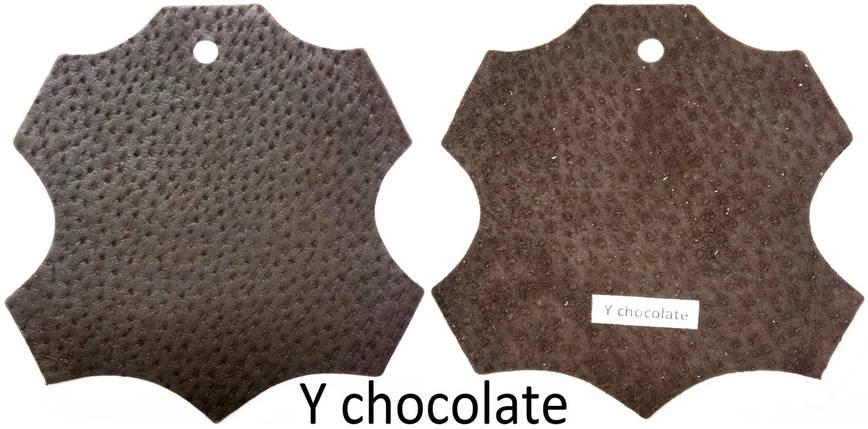 Кожа стелечная (подкладочная) воскованая цвет Коричневый(Y chocolate), фото 2