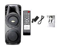 Мощная колонка на аккумуляторе A86 - 350Вт (Bluetooth/FM/Радиомикрофоны_