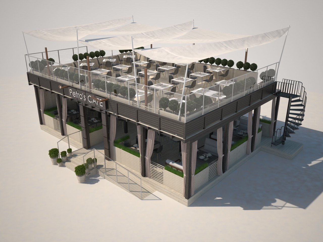 Разработка проекта кафе и его производство. Проекты кафе под ключ.