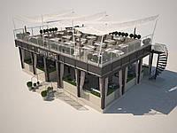 Разработка проекта кафе и его производство в сжатые сроки.