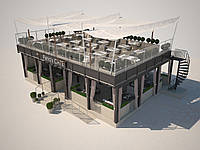 Проектирование и производство летних ресторанов и кафе