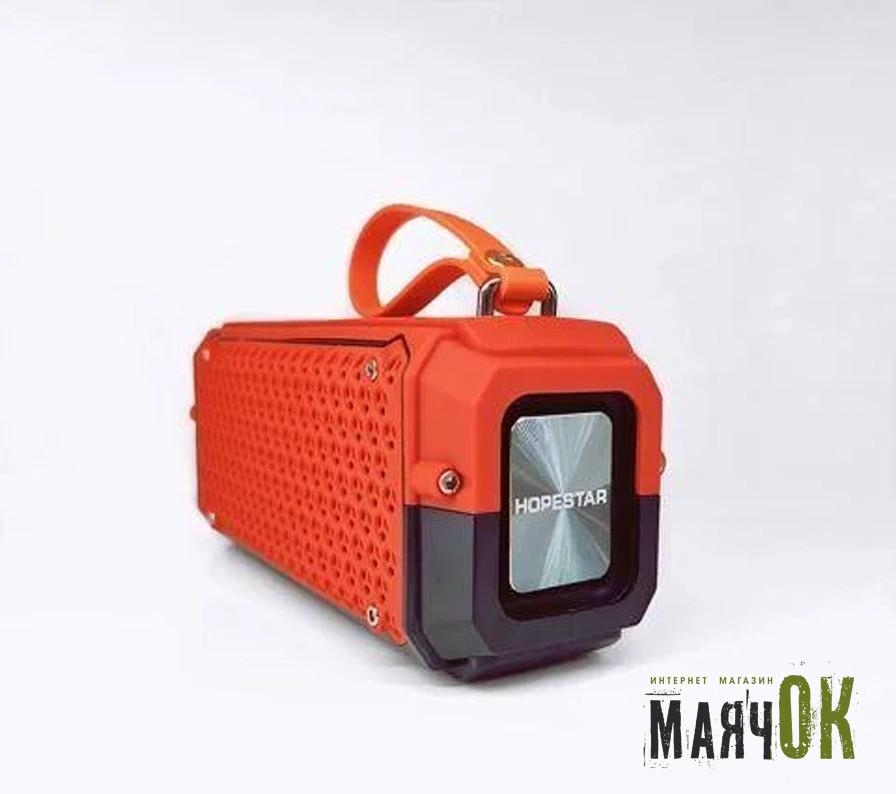Портативная Bluetooth колонка Hopestar P17, IPX6, Original, оранжевая