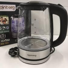 Чайник стеклянный Rainberg RB-703
