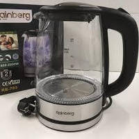 Чайник стеклянный Rainberg RB-703, фото 1