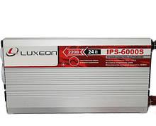 Luxeon IPS-6000S - инвертор напряжения, преобразователь, с правильной синусоидой, для кофемашин