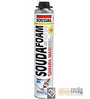 ТМ SOUDAL Soudafoam Maxi Sahara - полиуретановая монтажная пена (ТМ Соудал Соудафом Макси Сахара),870мл