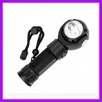 Аварийный переносной фонарь XBalog BL881 T6 светильник для авто с магнитом (Черный)