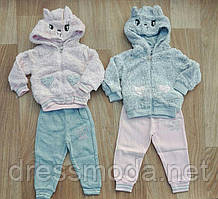 Теплий костюм двійка для дівчаток Crossfire 12-36 міс.
