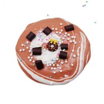 Chocolate Glazed Doughnut / Шоколадный пончик слайм
