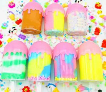 Fruity Ice / Фруктовое мороженое слайм