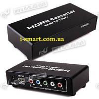Конвертер HDMI 1.2/1.3 TO YPbPr + R/L VIDEO Converter