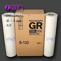 Мастер-пленка для ризографа RISO (S-132) GR (200 кадров), формат А3