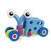 Конструктор Gigo Сумасшедшие машины , конструктор для малышей
