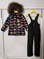 Зимовий термо комплект - костюм для хлопчика, фото 1