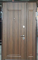 Двери входные металлические полуторные  модель Милано