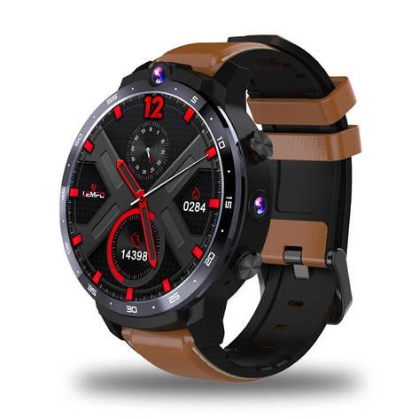 Смарт часы Lemfo LEM12 brown, фото 2