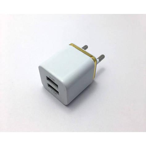 Зарядний 2 USB, 1A, фото 2