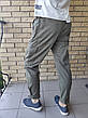 Джоггеры, джинси з поясом на резинці унісекс, накладні кишені карго, є великі розміри NN, фото 2