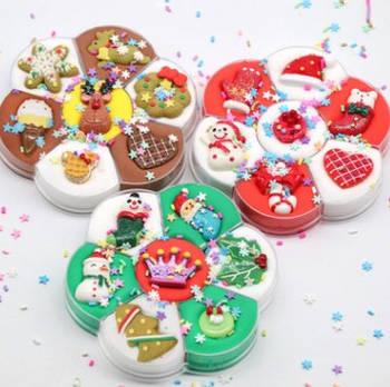 New Year collection / Новогодняя коллекция слаймов