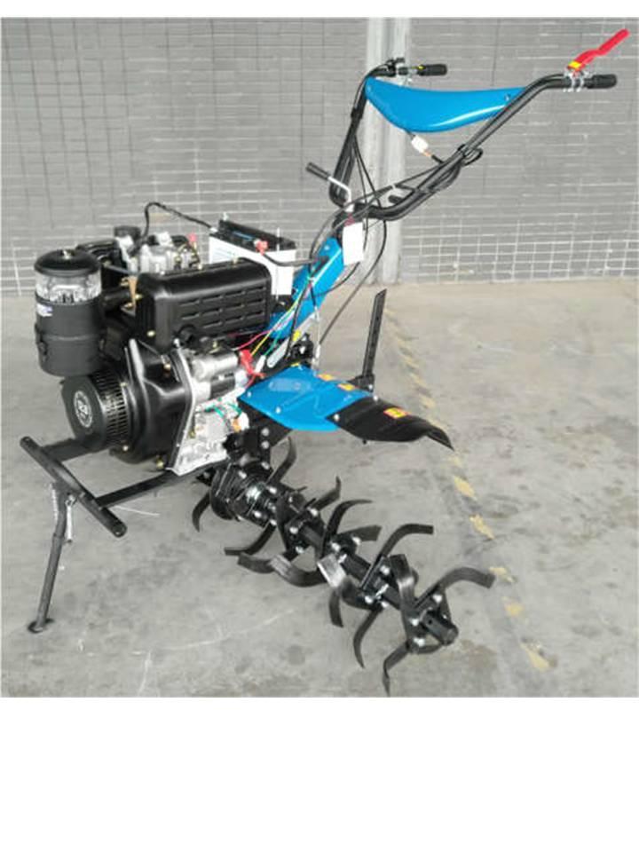 Мотоблок ДТЗ 512ДНЕ (12 л.с., скорости 3+1, электростартер, колеса 5.00-12)