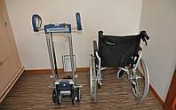 Ступенькоход (лестничный подъемник ) с инвалидной коляской Scalamobil IQ S 30