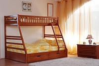 Двухъярусная детская кровать Юлия ( сосна) Чавис