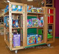 Торговая мебель для магазина игрушек