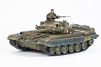 Танк VSTANK PRO Russian Army T72 M1 1:24 (Khaki, Winter), фото 1