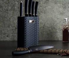 Набор ножей из стали Berlinger Haus Metallic Line Aquamarine Edition BH-2526