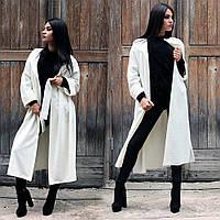 Жіноче довге пальто демісезонне