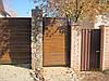 Откатные ворота и калитка ADS400. с.Романков