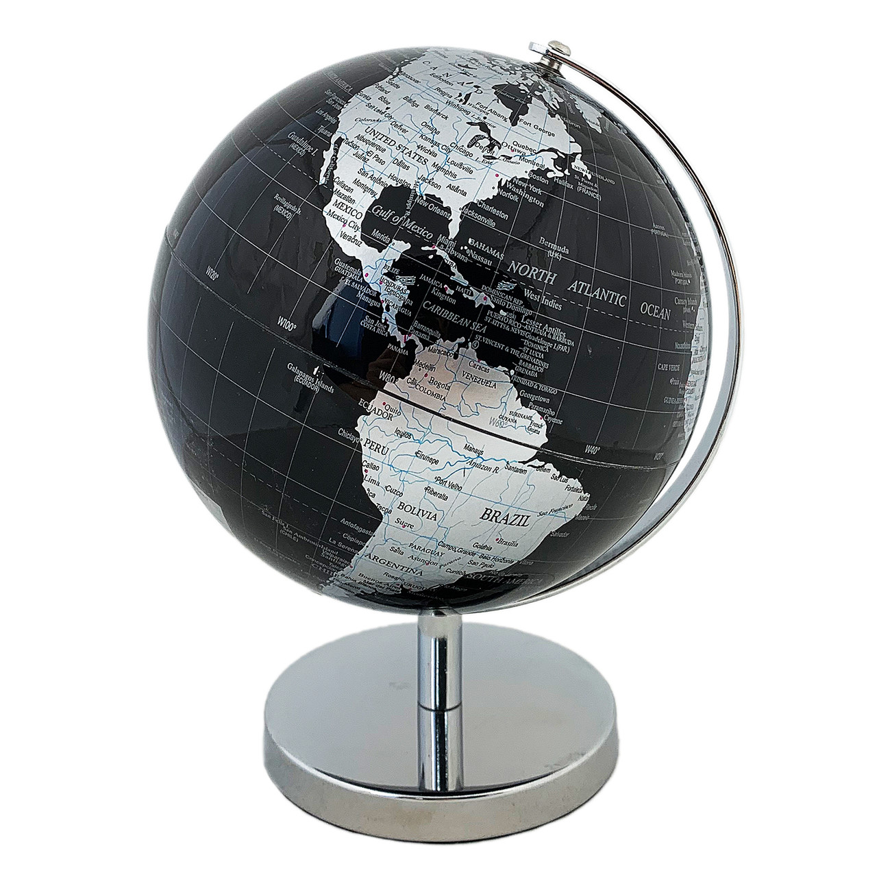 Глобус 14,2 см см Черно- Серый