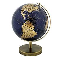 Глобус 20 см диаметр темно синий