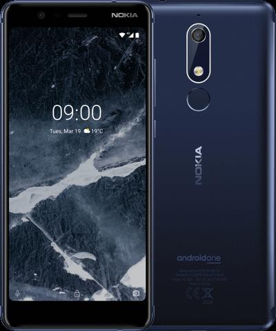 Nokia 5.1 TA-1076 3/32Gb blue