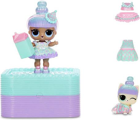 Подарочный набор ЛОЛ с эксклюзивной куклой Супер-подарок бирюзовый L.O.L. Surprise Deluxe Present Surprise, фото 2