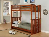 Детская двухъярусная кровать Кузя2 (трансформер,ясень)